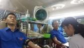 Gần 100 cán bộ, công nhân viên Công ty Fosco tham gia ngày hội hiến máu
