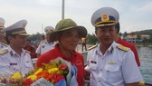 Đón đoàn đại biểu TPHCM tại Cảng An Thới, Phú Quốc