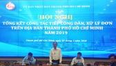 Phó Chủ tịch UBND TPHCM Ngô Minh Châu phát biểu tại hội nghị
