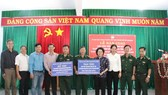 Bàn giao công trình điện năng lượng mặt trời tặng Biên phòng tỉnh Bình Phước