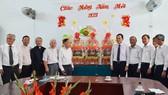 Đoàn lãnh đạo TPHCM thăm, chúc tết các cơ sở tôn giáo