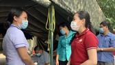 Ủy ban MTTQ Việt Nam TPHCM thăm, động viên các chốt trạm phòng, chống dịch Covid-19