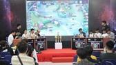 Các game thủ tham gia thi đấu tại giải thể thao điện tử sinh viên TPHCM 2020. Ảnh: NGUYỄN ANH