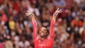Simone Biles – niềm hy vọng huy chương của TDDC Mỹ. ẢNH: GETTY