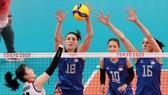 Đội tuyển Serbia có chiến thắng nhẹ nhàng trước Hàn Quốc để giành tấm HCĐ bóng chuyền nữ Olympic. Ảnh: REUTERS