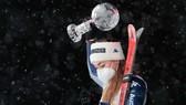 Sofia Goggia đã giành được Quả cầu pha lê trượt tuyết đổ đèo mùa giải trước. Ảnh: GETTY IMAGES