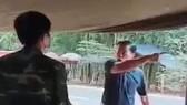 Ông Thanh chống đối chốt kiểm dịch.