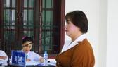 Bị cáo Chiến tại phiên tòa ngày 7-10