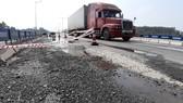 Cao tốc Đà Nẵng – Quảng Ngãi liên tục bị hư hỏng