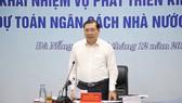 Ông Huỳnh Đức Thơ, Chủ tịch UBND TP Đà Nẵng phát biểu tại Hội nghị Ảnh: NGUYỄN CƯỜNG