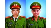 Thăng cấp bậc hàm cho hai chiến sĩ hy sinh khi làm nhiệm vụ
