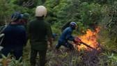 Huy động gần 700 người tham gia dập tắt vụ cháy rừng ở Đà Nẵng