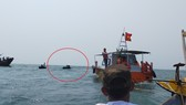 Lên phương án trục vớt tàu cá bị chìm trên vùng biển tỉnh Quảng Nam