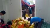 Các địa phương của tỉnh Quảng Nam đã trữ lương thực, thực phẩm đáp ứng đủ nhu cầu của người dân nếu xảy ra sạt lở, cô lập trước khi bão số 5 đổ bộ
