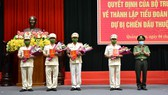 Tiểu đoàn CSCĐ dự bị chiến đấu thực hiện Lễ tuyên thệ
