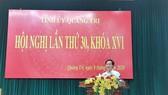 Bí thư Đông Hà được bầu giữ chức Phó Bí thư Tỉnh ủy Quảng Trị