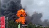 Hiện trường vụ cháy nổ