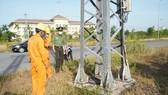 Quảng Trị: Hàng chục thanh giằng cột điện bị tháo trộm