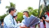 Lễ ra quân lực lượng y tế tình nguyện hỗ trợ tỉnh Bình Dương phòng chống dịch Covid-19