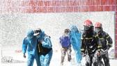 Quảng Trị thực tập chữa cháy và cứu nạn, cứu hộ tại khu cách ly tập trung