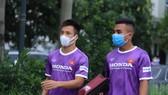 Các cầu thủ U22 Việt Nam đã có buổi tập đầu tiên