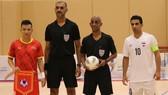 Đội tuyển futsal Việt Nam đánh bai Iraq 2-1 ở trận giao hữu vào tối 17-5