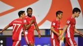 Viettel FC có chiến thắng đầu tiên tại AFC Champions League. Ảnh: CLB