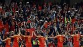 Trung Quốc phải nỗ lực rất nhiều nếu muốn giành vé tham dự World Cup 2022. Ảnh: AP