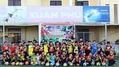 CLB Immanuel tổ chức cho các học viên buổi gặp gỡ và trò chuyện với Quả bóng Vàng Phạm Văn Quyến. Ảnh: ANH KHOA
