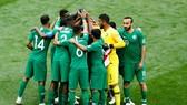 Saudi Arabia sẽ cạnh tranh cùng Nhật Bản và Australia cho 2 tấm vé tham dự World Cup 2022. Ảnh: AP