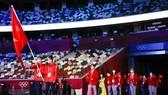 Đoàn thể thao Việt Nam tham dự Olympic Tokyo 2020. Ảnh: GETTY IMAGES