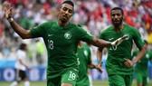 Tiền vệ Salem Al-Dawsari là tác giả ấn định chiến thắng 2-1 cho Saudi Arabia trước Ai Cập ở World Cup 2018