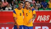 Đội tuyển futsal Brazil kết thúc chuyến tập huấn ở Ba Lan với kết quả ấn tượng. Ảnh: CBF