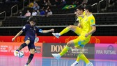 Thái Lan chia tay Futsal World Cup 2021 bằng thất bại 0-7 trước Kazakhstan. Ảnh: GETTY