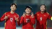 Huỳnh Như, Hải Yến và Bích Thùy ghi 5/7 bàn cho đội nhà