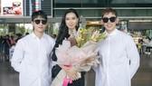 Tân Hoa hậu Hoàn vũ Hàn Quốc đến Việt Nam