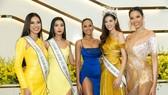 H'Hen Niê và Hoàng Thùy hội ngộ top 3 Hoa hậu Hoàn vũ Việt Nam 2019