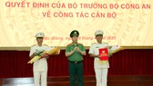 Bổ nhiệm Giám đốc Công an tỉnh Hậu Giang