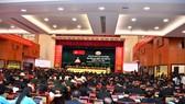 Quang cảnh Đại hội đại biểu Đảng bộ TPHCM lần thứ XI. Ảnh: VIỆT DŨNG