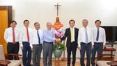 Lãnh đạo TPHCM thăm, chúc mừng Giáng sinh 2020 và năm mới 2021