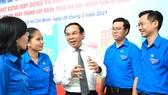 Đồng chí Nguyễn Văn Nên chia sẻ đầy xúc động, truyền cảm hứng cho thanh niên TPHCM
