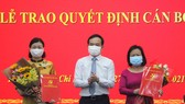 Trao quyết định nhân sự lãnh đạo báo Phụ nữ TPHCM và Người Lao động