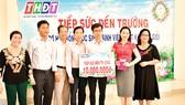 Một số hoạt động từ thiện của Công ty XSKT Đồng Tháp trong tháng 9-2019