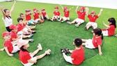 """Khi trường có không gian xanh sẽ tạo nên """"thói quen xanh"""" tích cực cho trẻ…"""