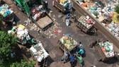 Cải tiến xe rác đạt chuẩn môi trường