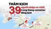 Thảm kịch 39 người nhập cư chết trong thùng container đông lạnh