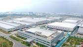 Dự án Nhà máy Samsung Việt Nam tại Khu Công nghệ cao TPHCM. Ảnh: HOÀNG HÙNG