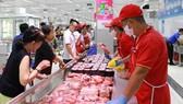 Nguồn thịt heo được các doanh nghiệp, nhà phân phối cam kết đảm bảo cung ứng trong dịp tết
