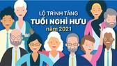 Lộ trình tăng tuổi nghỉ hưu từ năm 2021