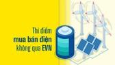 Thí điểm mua bán điện không qua EVN